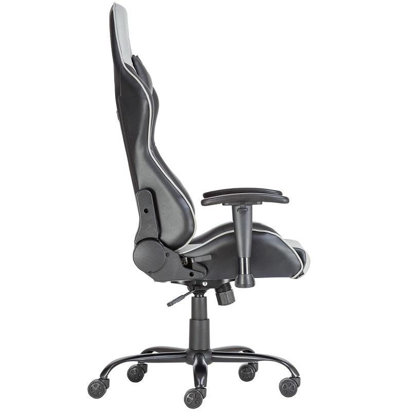 ALPHA RACING gamer szék szürke színben