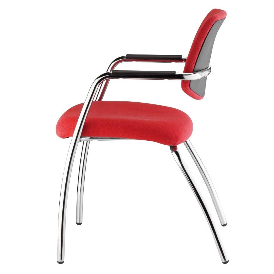 Alacsony háttámlás szék meetingekhez