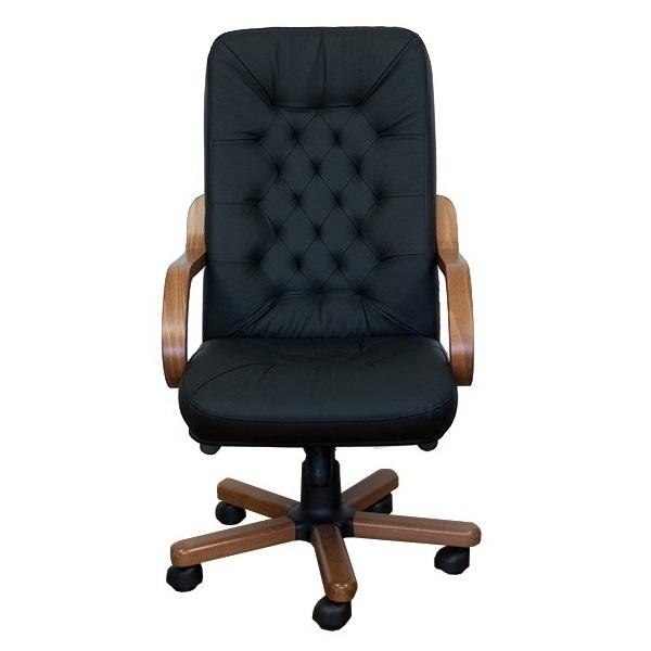 Valódi bőrből készült főnöki szék