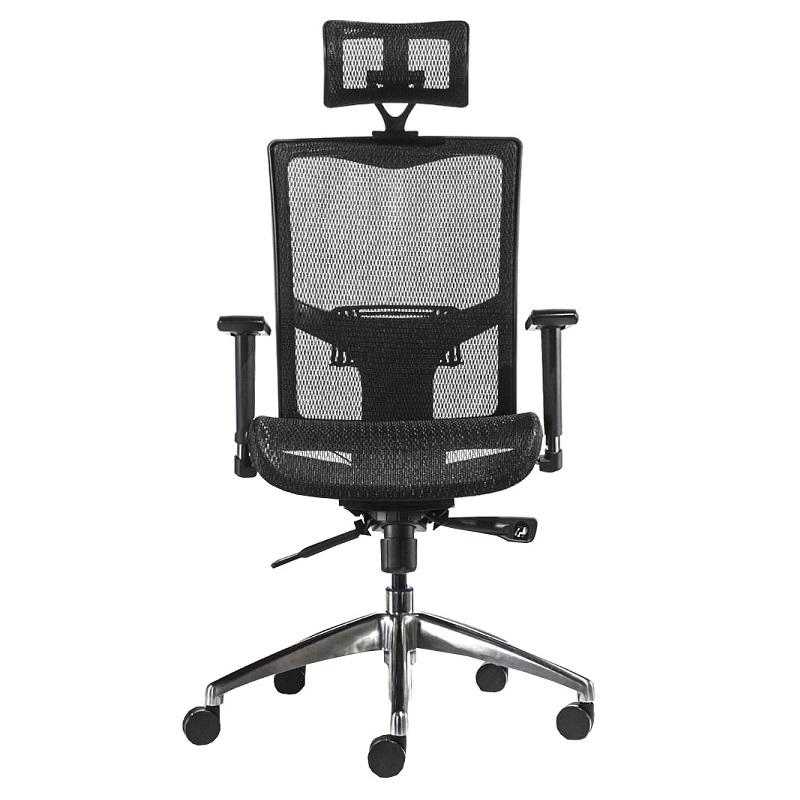 Teljes háló borítással rendelkező ergonómikus szék