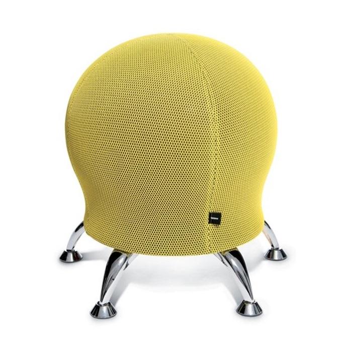 SITNESS 5 labdaszék sárga színben