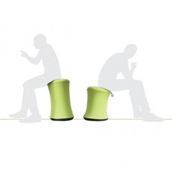 ACTIWORK állítható ülésmagasságú puff
