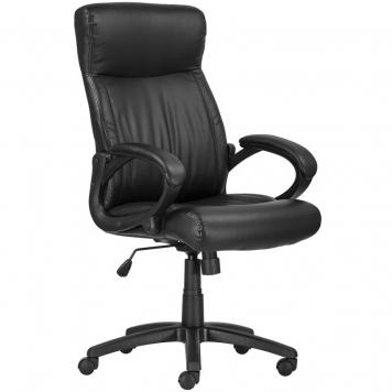 Kárpitozott karfás főnöki szék