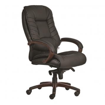 Bőrből készült főnöki szék