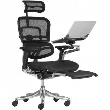 ERGOHUMAN PLUS szék laptop és láb tartóval
