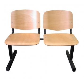 ISO WOOD fa felületű várótermi padok