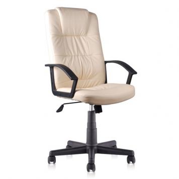 KEVIN BEIGE szék bézs színű textilbőr kárpitozással