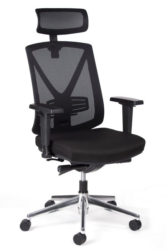 MARCELL ALU nagy teherbírású ergonomikus forgószék