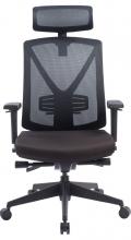 MARCELL BLACK nagy teherbírású ergonomikus forgószék