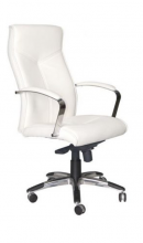 OSLO WHITE textilbőr irodai fotel